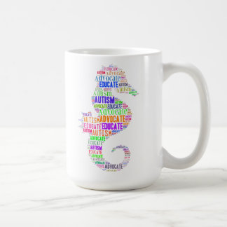 autismförkämpen utbildar Seahorsemuggen GoTeamKate Kaffemugg