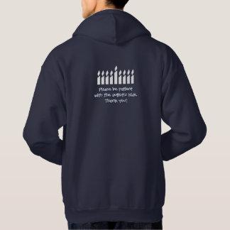 AutismHanukkah hoodie - mörk