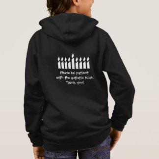 AutismHanukkah tröja - mörk