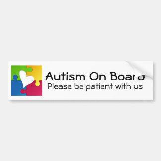 Autismmedvetenhetbildekal Bildekal