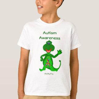 AutismmedvetenhetDinosaur T-shirt