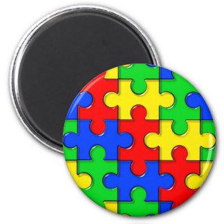 Autismpussel Magneter