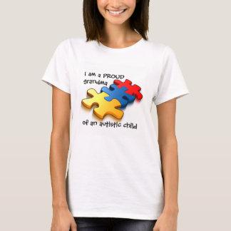 Autistic barn för stolt mormor tee