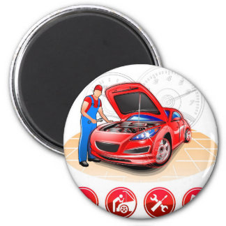 Auto mekaniker magnet