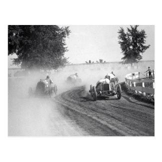 Auto tävlingar för Rockville mässa, 1923 Vykort