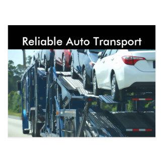 Auto transport vykort