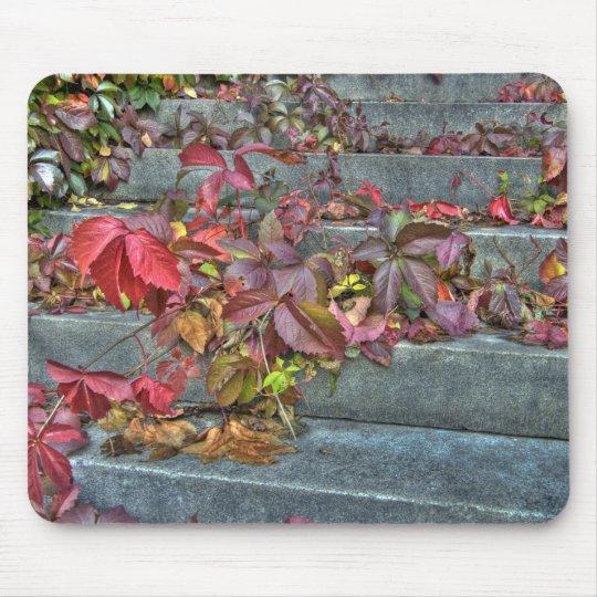 Autumn leaves mousepad musmatta