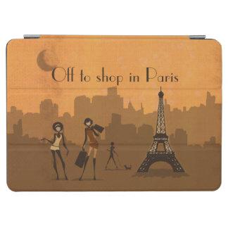 av att shoppa i Paris iPad Air Skydd