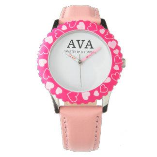 Ava som är mer smart vid det minimalt armbandsur