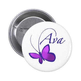 Ava Standard Knapp Rund 5.7 Cm