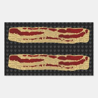 Avancerad baconteknologi rektangulärt klistermärke