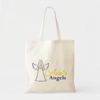Avas grundläggande toto för änglar budget tygkasse