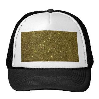 Avbilda av guld- glitter keps