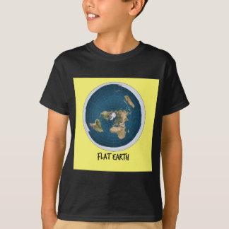 Avbilda av lägenhetjord tee shirts