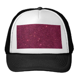 Avbilda av ljust rosaglitter keps