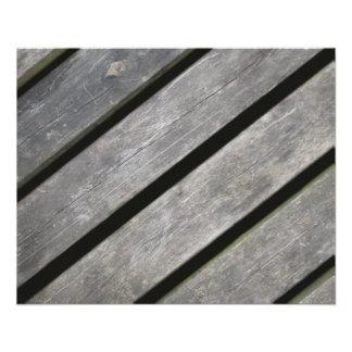 Avbilda av red ut plankor av trä flygblad