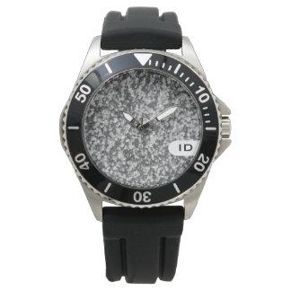 Avbildar den naturliga stenen för GRANIT | Armbandsur