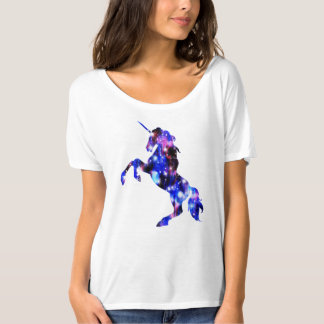 Avbildar den sparkly rosa härliga unicornen för tshirts