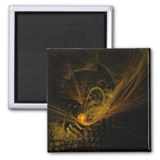 Avbrott pekar abstrakt konst kvadrerar magneten magnet