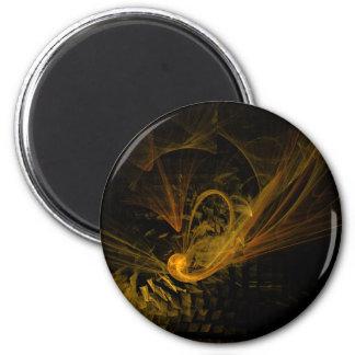 Avbrott pekar den abstrakt konstrundamagneten magnet