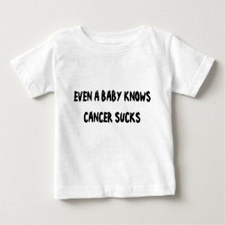 ÄVEN VET EN BABY ATT CANCER SUGER TEE SHIRT