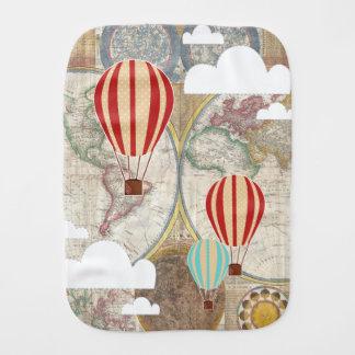 Äventyr för luftballongvintagevärld bebistrasa
