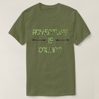 Äventyr kallar t shirts