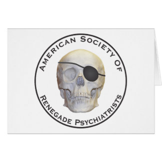 Avfällings- psykiater hälsningskort