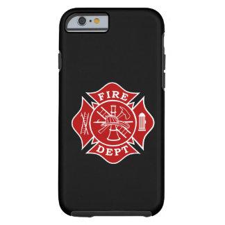 Avfyra den maltesiska arga iphone case 6/6s för tough iPhone 6 fodral