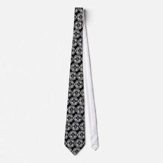 Avfyra den maltesiska arga tien för kämpen slips