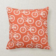 Avfyra den orange cykeln kudder