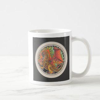 Avfyra draken kaffemugg