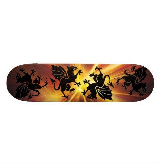 avfyra drakeskateboarden skateboard bräda 21,5 cm