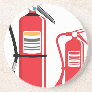 Avfyra eldsläckarevektorn underlägg