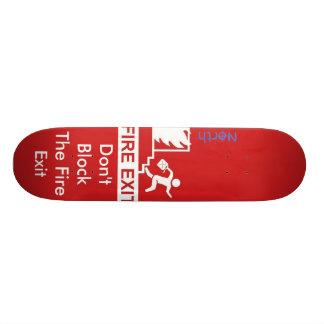 Avfyra går ut old school skateboard bräda 21,6 cm