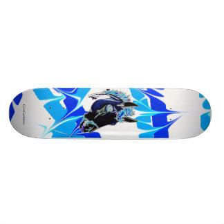 Avfyra hästen skateboard bräda 19,5 cm
