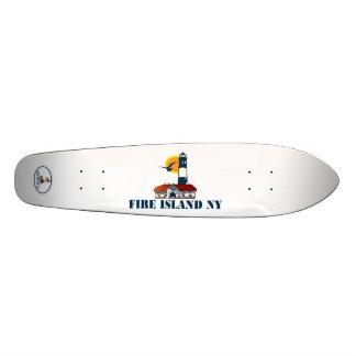 Avfyra island.en skateboard bräda 19,5 cm