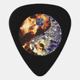 Avfyra & isYin Yang gitarrer Plektrum