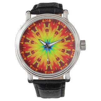 Avfyra Kaleidoscopeklockan Armbandsur