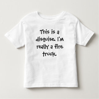 Avfyra lastbildräkten t shirt
