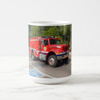 Avfyra lastbilen i Manitou vårar Kaffemugg