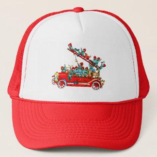 Avfyra lastbilen med ungelocket keps