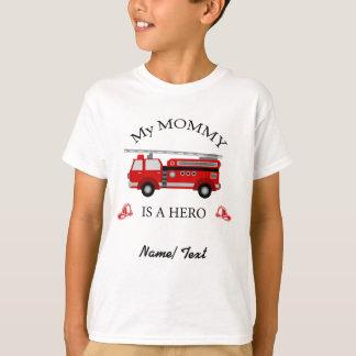 Avfyra lastbilen - min mamma är en HJÄLTE Tee Shirt