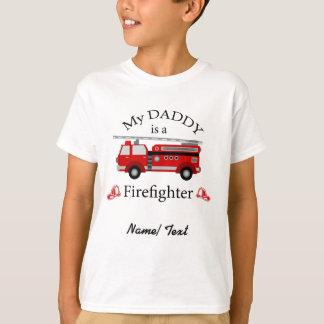 Avfyra lastbilen - min pappa är en BRANDMAN Tshirts