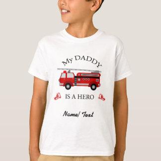 Avfyra lastbilen - min pappa är en HJÄLTE Tee Shirts