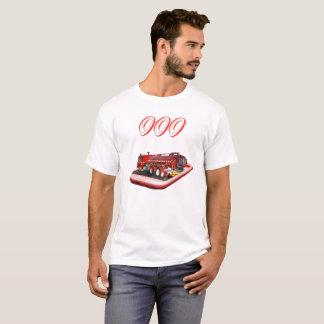 Avfyra lastbilen på logotyp för mobiltelefon 000, t shirt