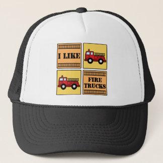 Avfyra lastbilen truckerkeps