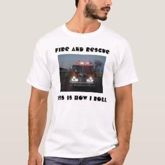 Avfyra och rädda T-tröja T-shirt