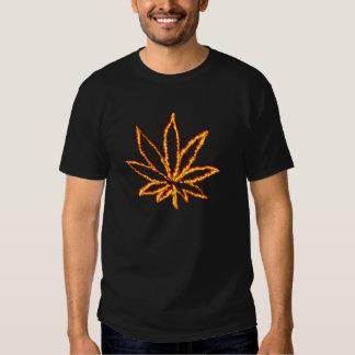 Avfyra ogräset tee shirt