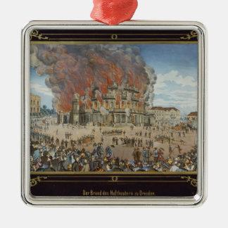 Avfyra på den kungliga theatren i Dresden Julgransprydnad Metall